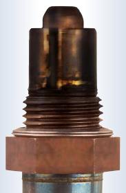 black oxygen sensor