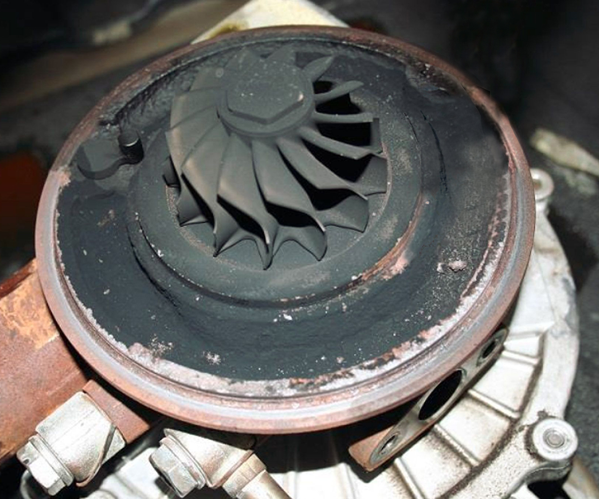 carbon turbocharger