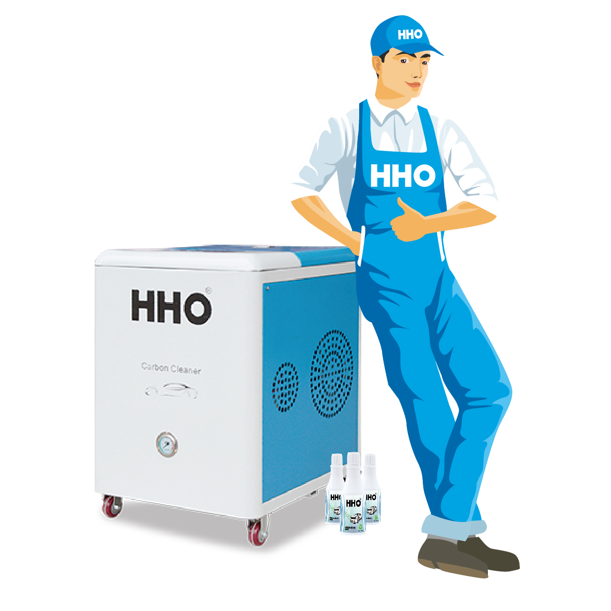 hho carbon cleaner
