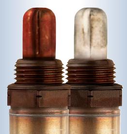 red or white oxygen sensor
