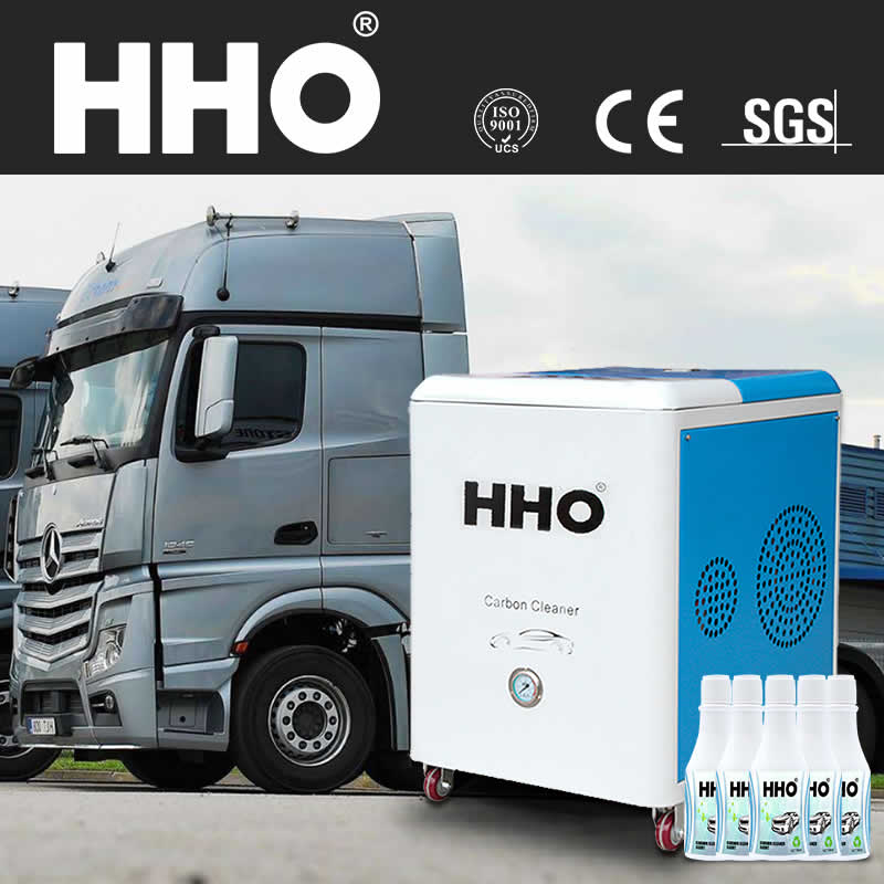 hho diesel engine carbon cleaning machine